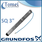 "Grundfos SQ Submersible Pump 3"" / 76mm Well Borehole SQ 1-35 MS3 0,58kW 1x230V 50/60Hz"