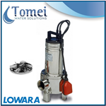Submersible sewage dirty waste water pump DOMO10VX 0,75kW 230 Vortex Float Lowara